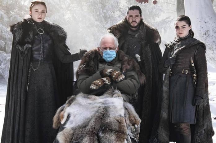 Bernie Sanders in Game of Thrones