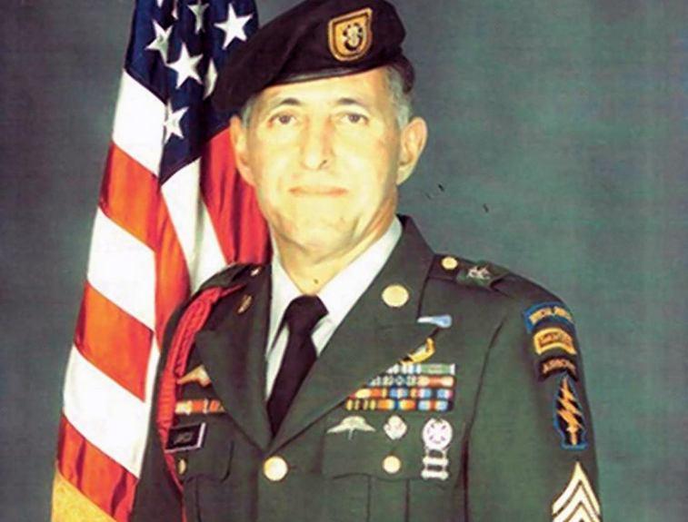 Changiz Lahidji, the first Muslim Green Beret