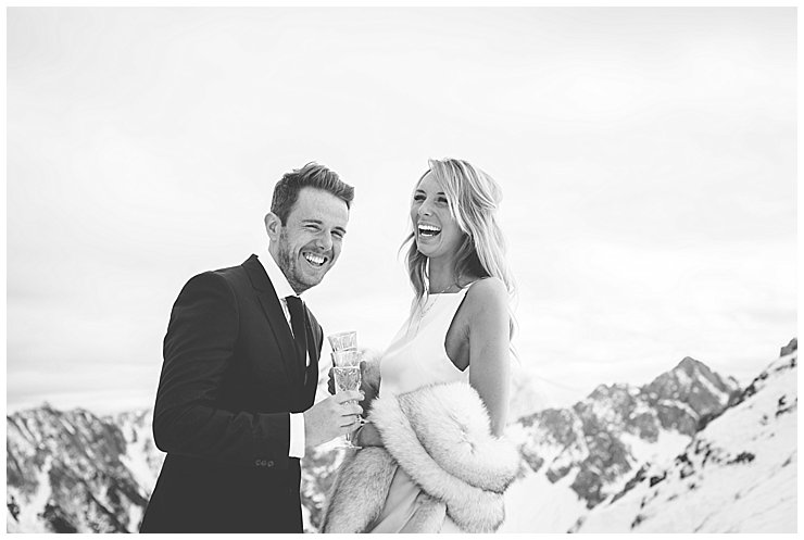 Seefeld Austria Mountain Winter Wedding