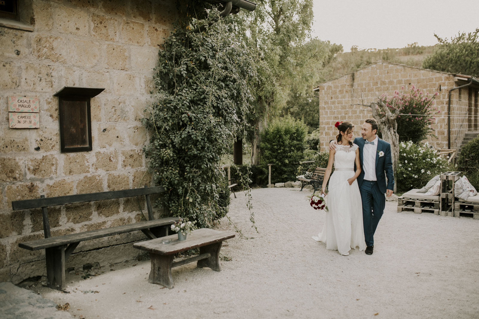 Countryside Wedding Outside Rome We Are The Wanderers