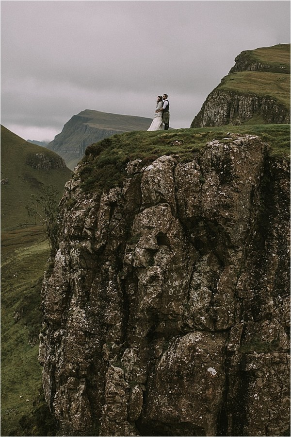 On top of the world on the Isle of Skye in Scotland by Maureen Du Preez