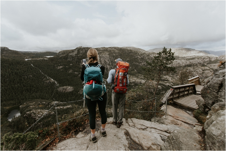Hiking in Norway by Aspen Jeanne Photography