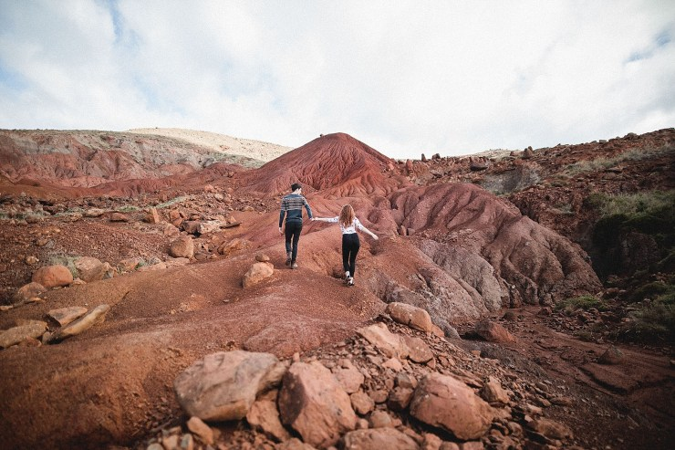 Exploring the red landscape of Madeira by Konstanz-Fotograf