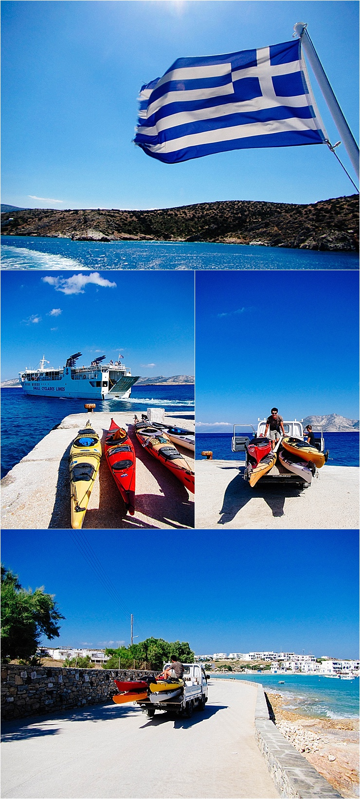 Getting ready for a sea kayaking adventure in Greece by Mister Pretty's Pictures