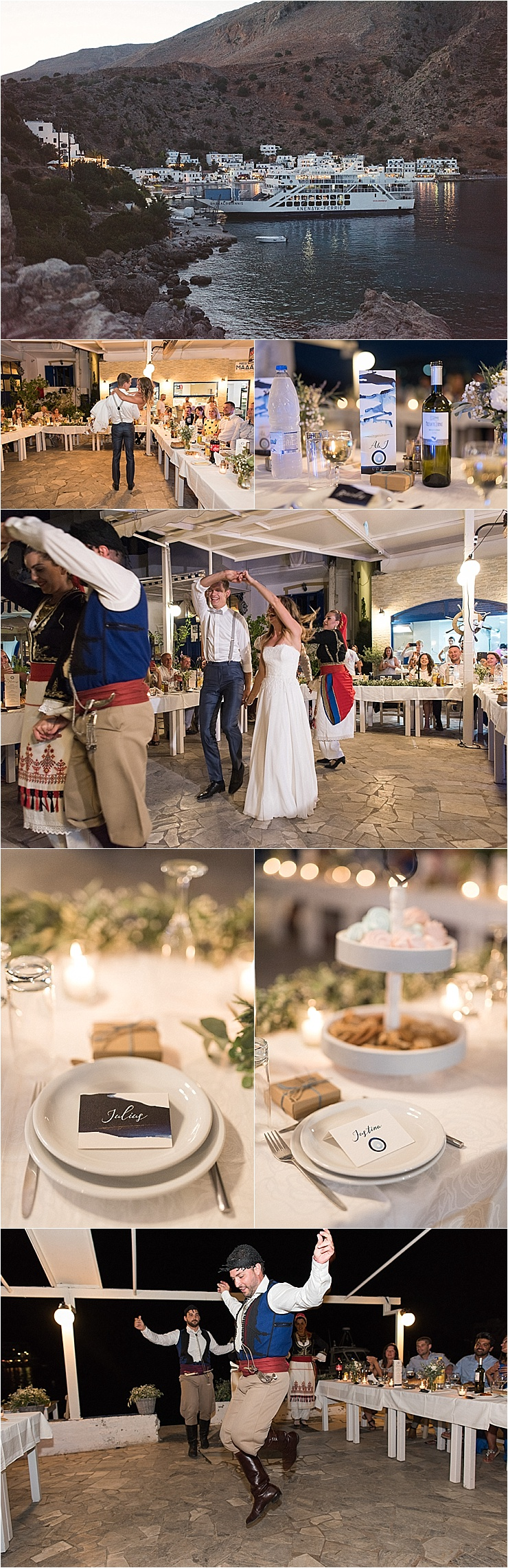 A Cretan themed wedding reception in Crete by Andreas Markakis Photography