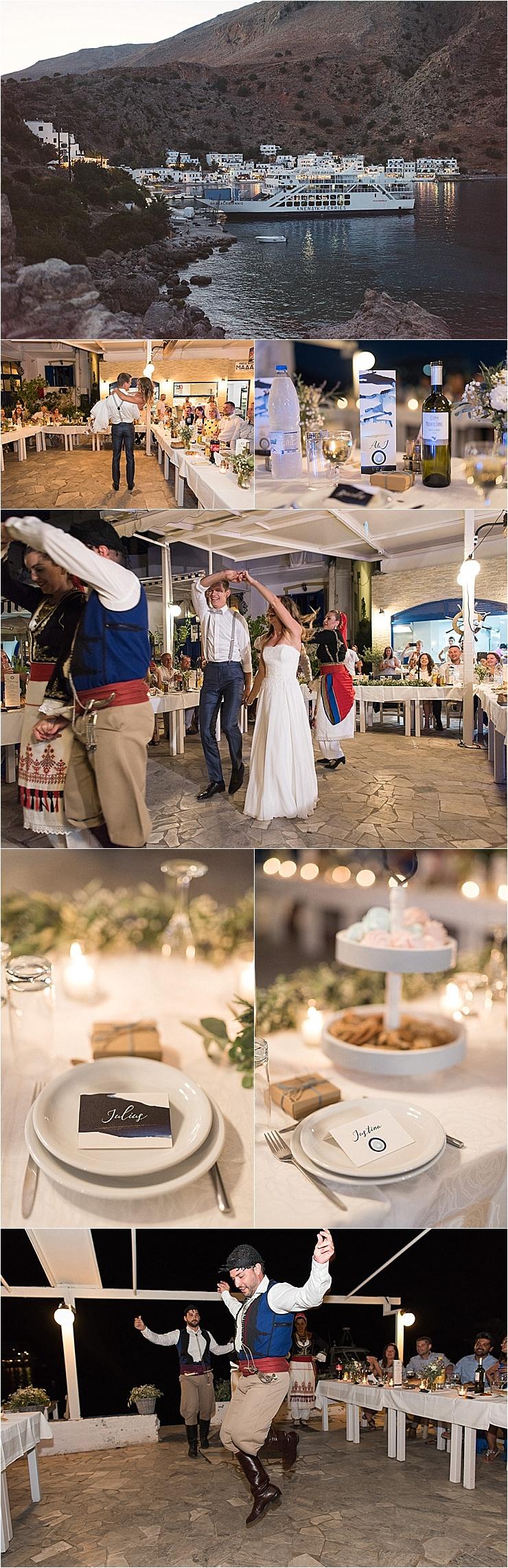 A Cretan themed wedding reception in Crete by Andreas Markakis Photography
