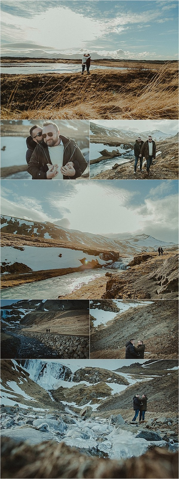 Snaefellsnes Peninsula Iceland Engagement Session by Zakas Photography