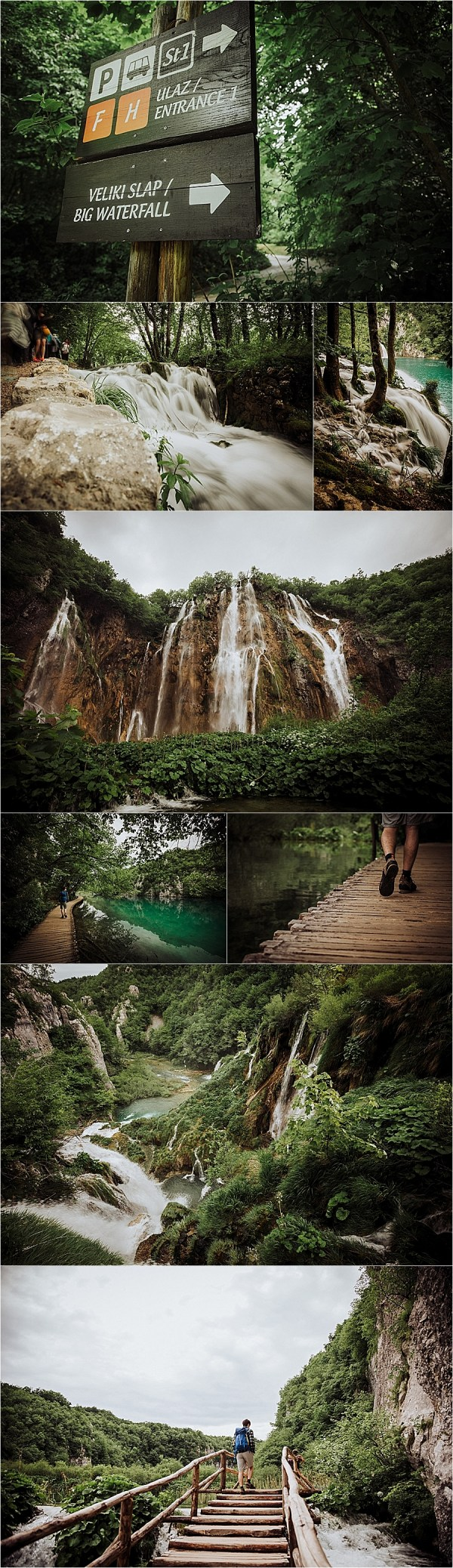 Visiting the lower lakes at Plitvice Lakes National Park by Wild Connections Photography