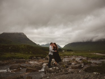Highlands Surprise Proposal in Scotland by Bridle Photography