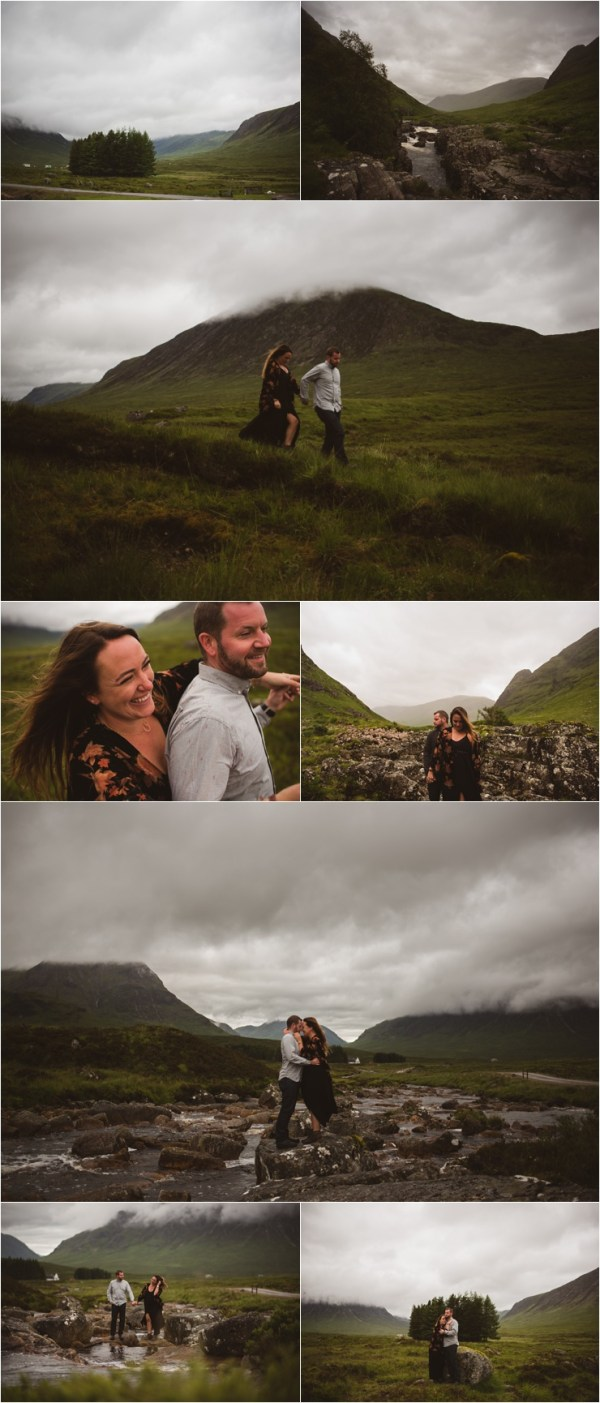 Exploring the Scottish highlands in this Surprise Proposal in Scotland by Bridle Photography