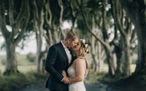 The Dark Hedges Northern Ireland elopement by Paula O'Hara