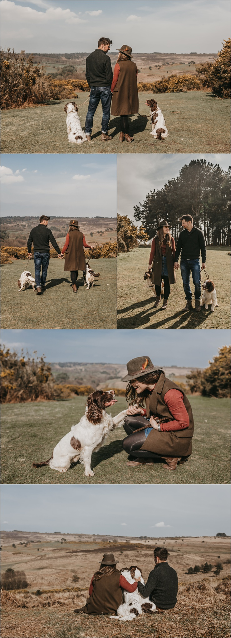 Ashdown Forest anniversary session by Emma Hill Film + Photography