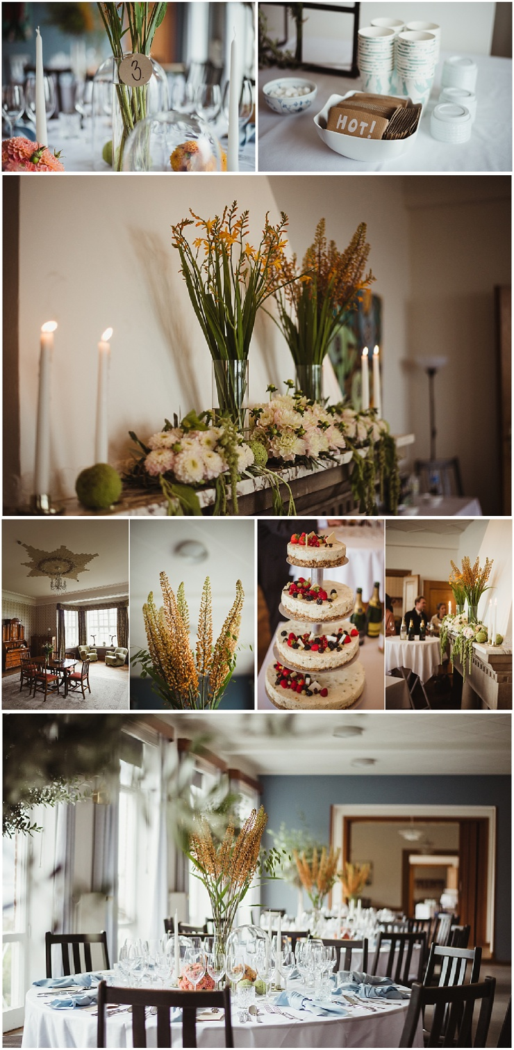 Waterfront wedding location Kogtved Soefartskole in Denmark by Lauren McCormick Photography