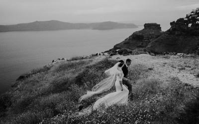 Santorini Destination Wedding in Greece by Tara Lilly Photography