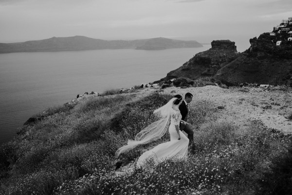 Santorini Destination Wedding in Greece by Tara Lilly Photography