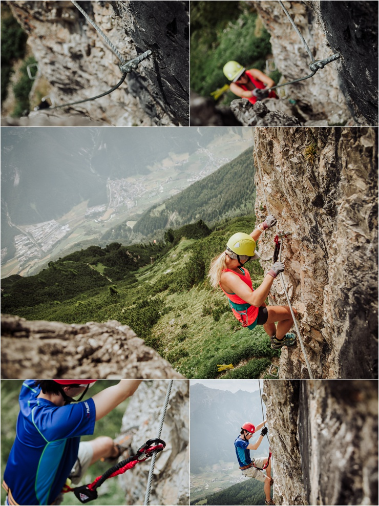 Via Ferrata Climbing In Austria by Wild Connections Photography