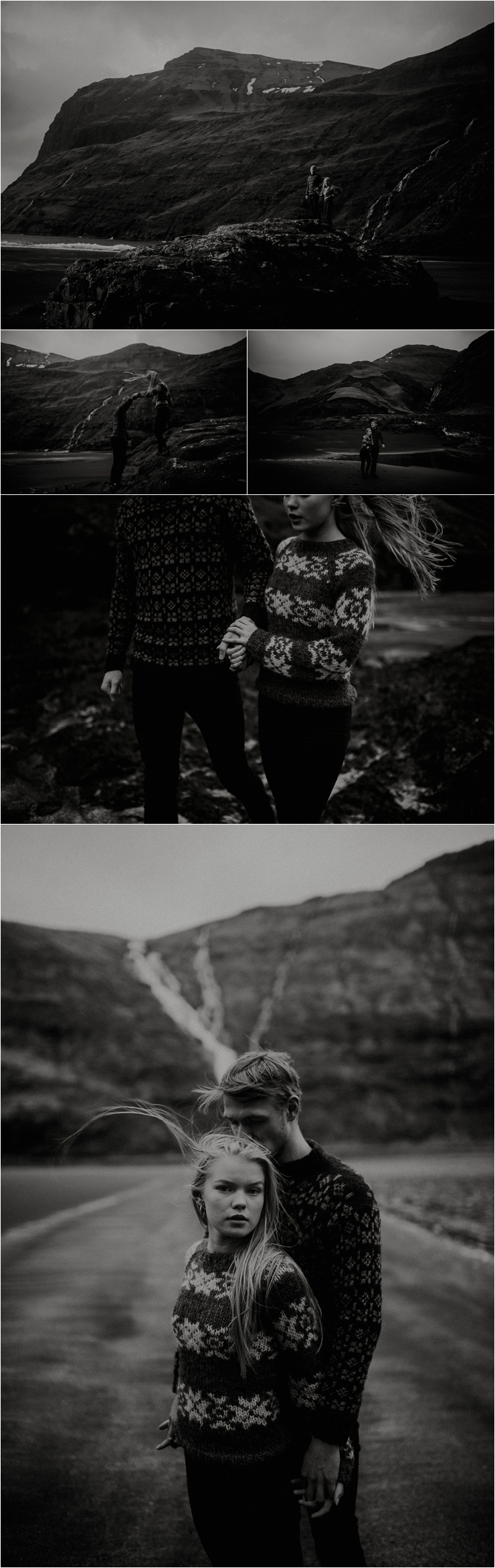 Love in the Faroe Islands by Barefoot + Bearded Photography