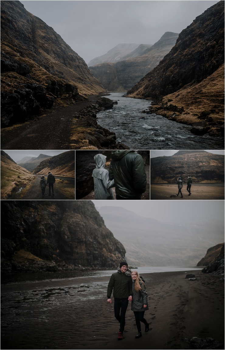 A wild couple shoot in the Faroe Islands by Barefoot + Bearded Photography