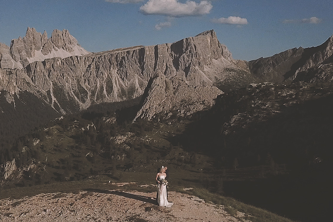 Dolomites Cycling Elopement Wedding Film