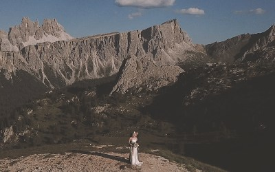 Dolomites Cycling Elopement Wedding Film