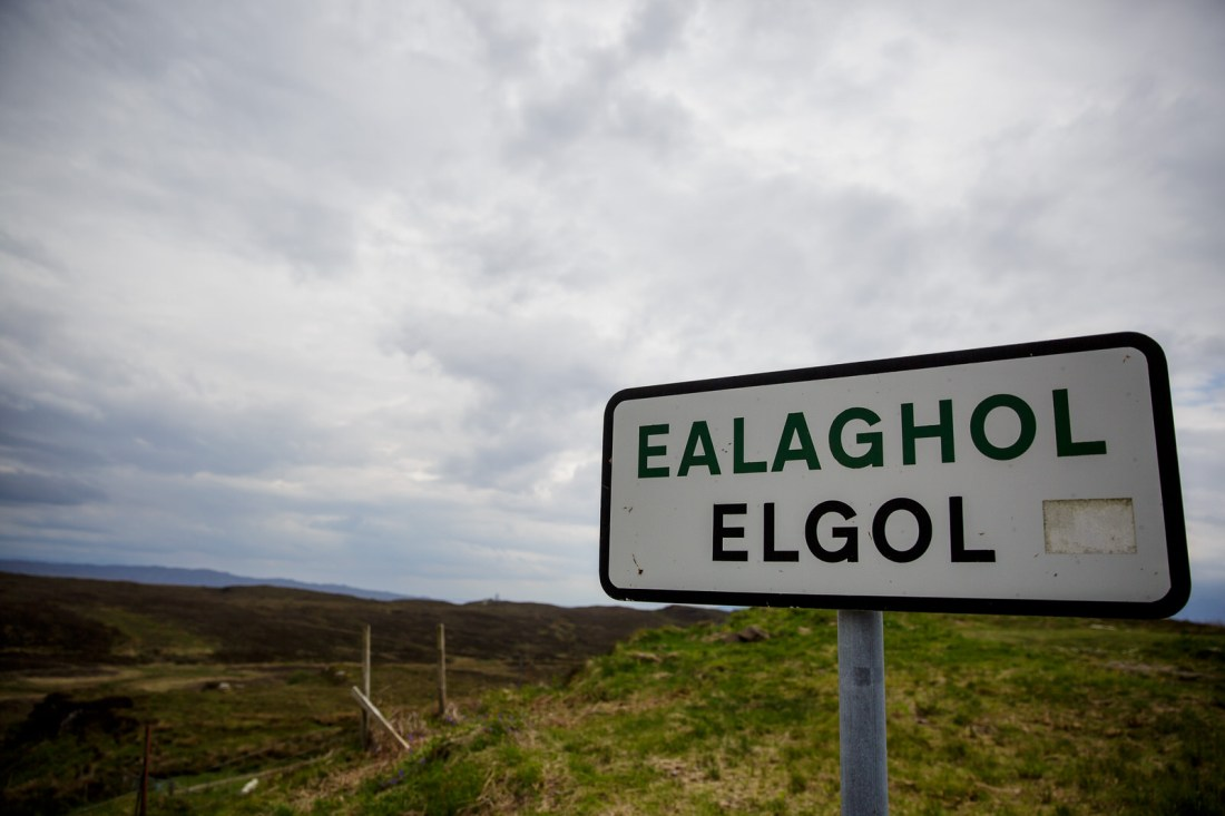 Elgol village sign by Lynne Kennedy Photography
