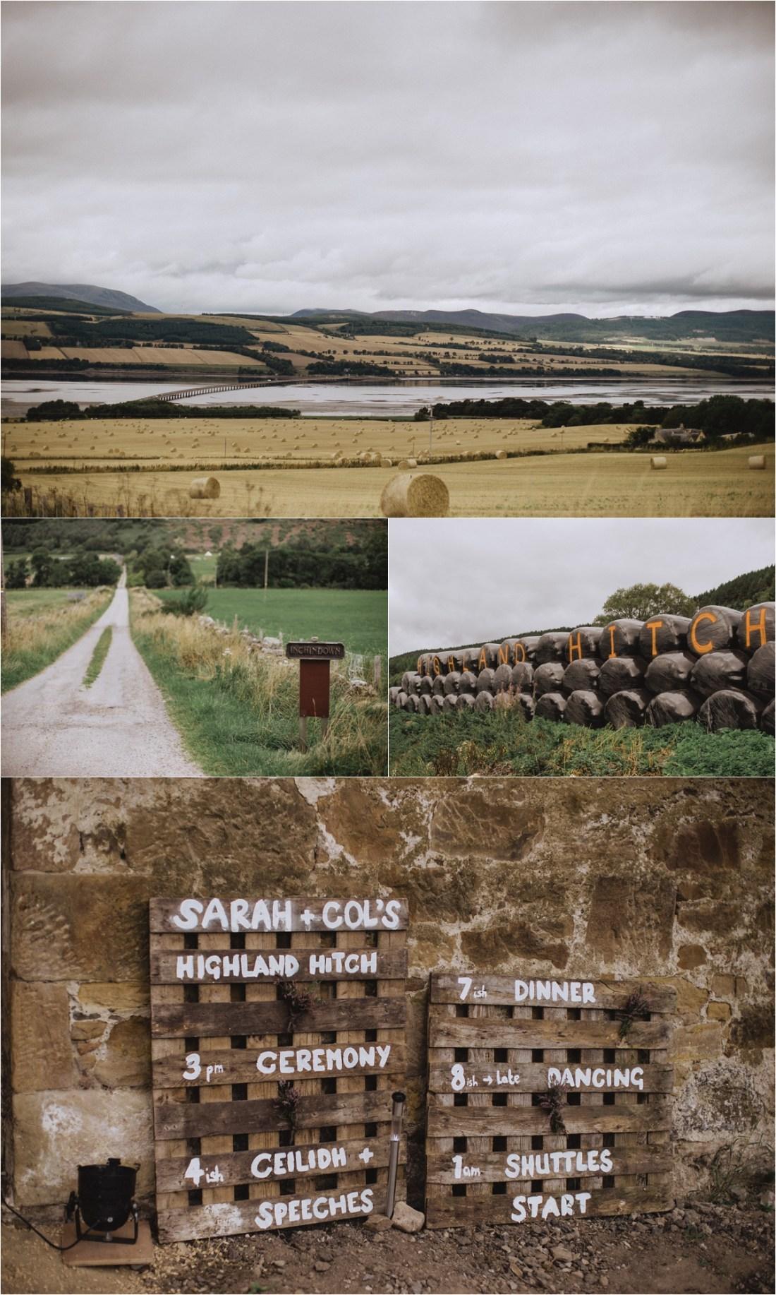 Sheep farm wedding location on a family farm in Scotland by Fox & Bear Photography