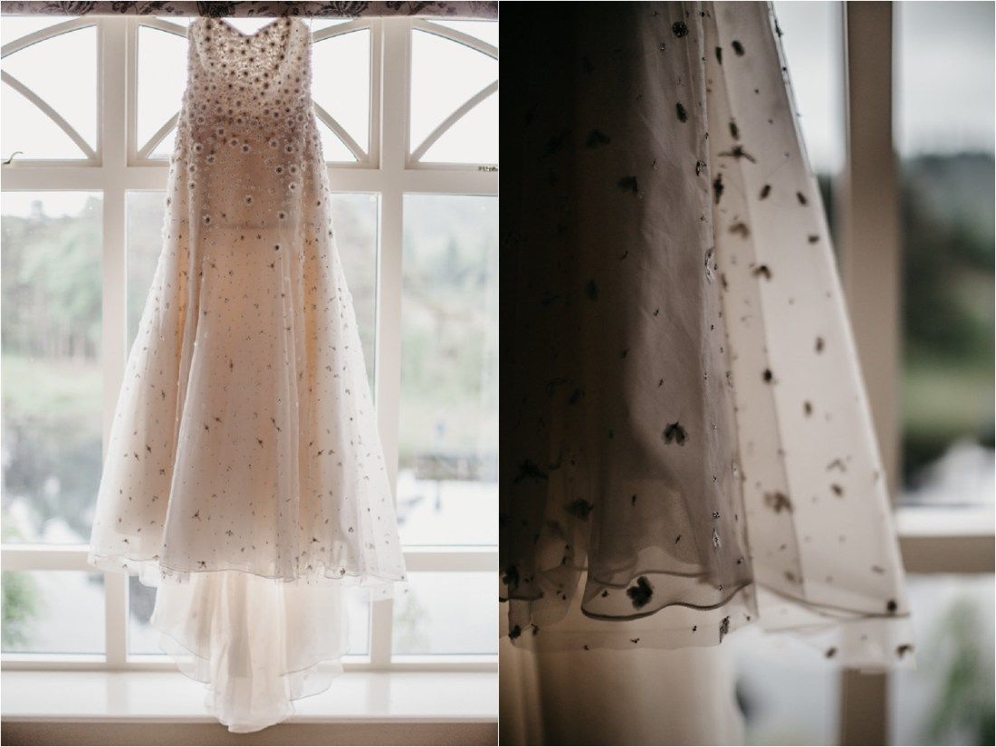 A Christos bridal wedding dress by No Other Love Photography