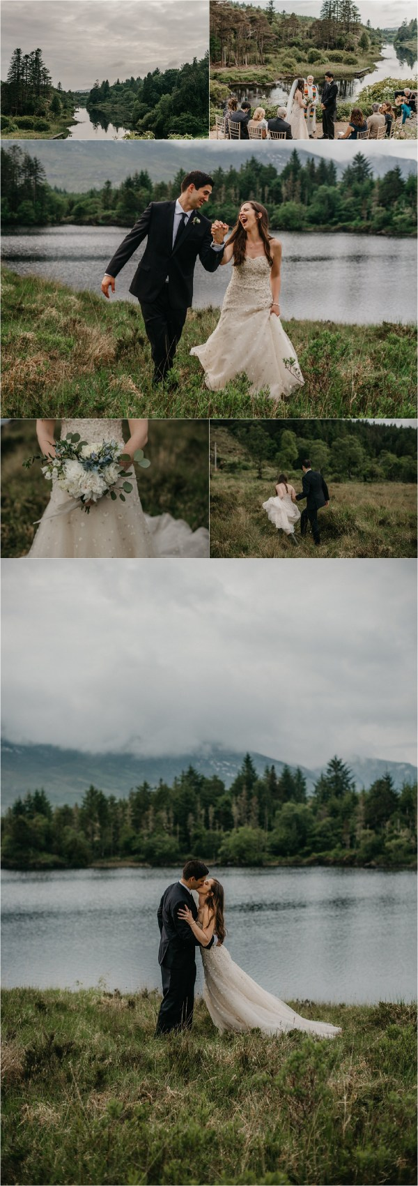 Wedding At Ballynahinch Castle Pinterest Graphic