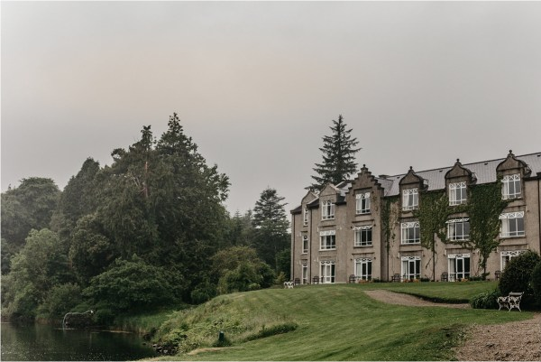 Ballynahinch Castle in County Galway by No Other Love Photography