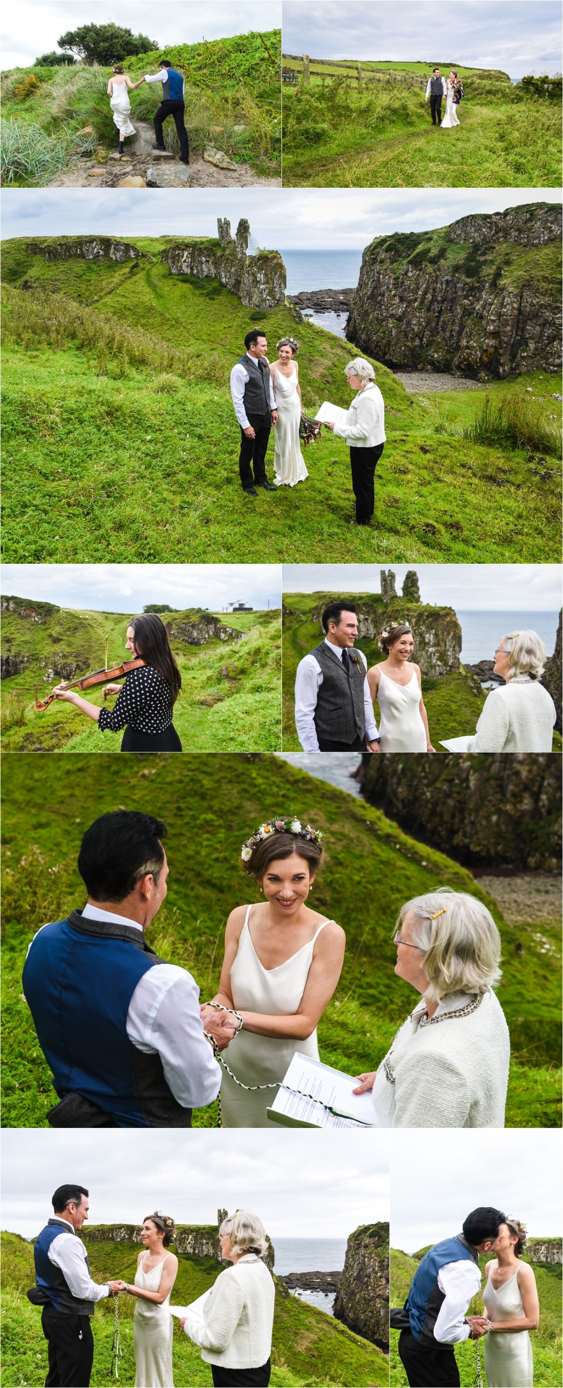 A humanist elopement ceremony in Northern Ireland by Collette Creative