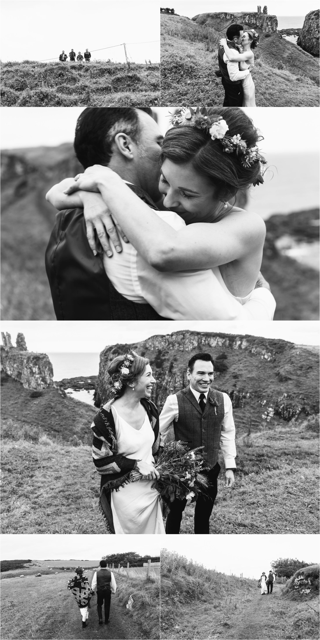 An emotional elopement ceremony in Northern Ireland by Collette Creative