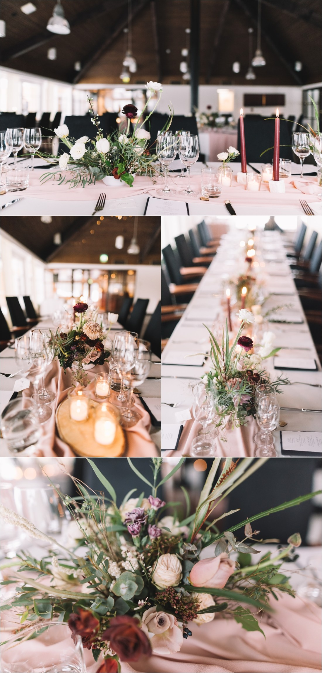 Winter wedding decor for a winter wonderland wedding in Finland by Lucie Watson Photography