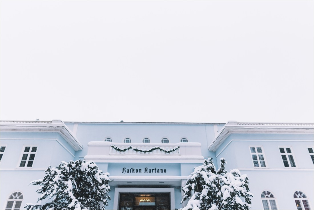 Kullo Golf Oy Golf Club winter wedding in Finland by Lucie Watson Photography