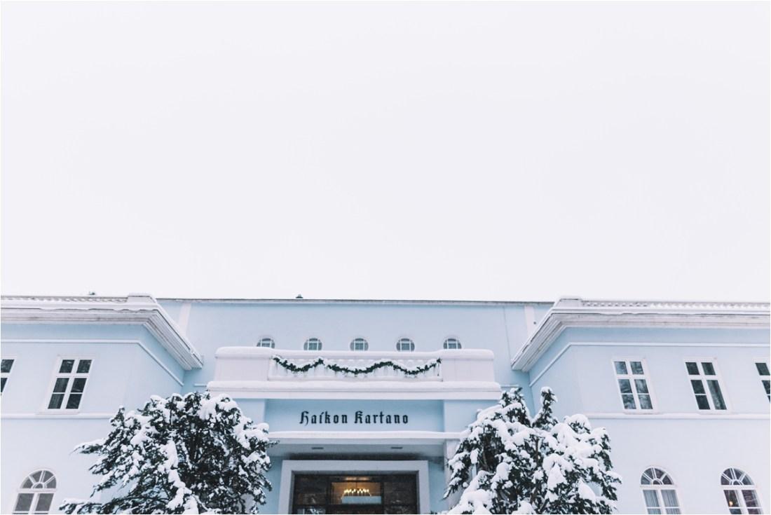 Kullo Golf Oy Golf Club winter wedding in Finland by Lucie Watson Photography