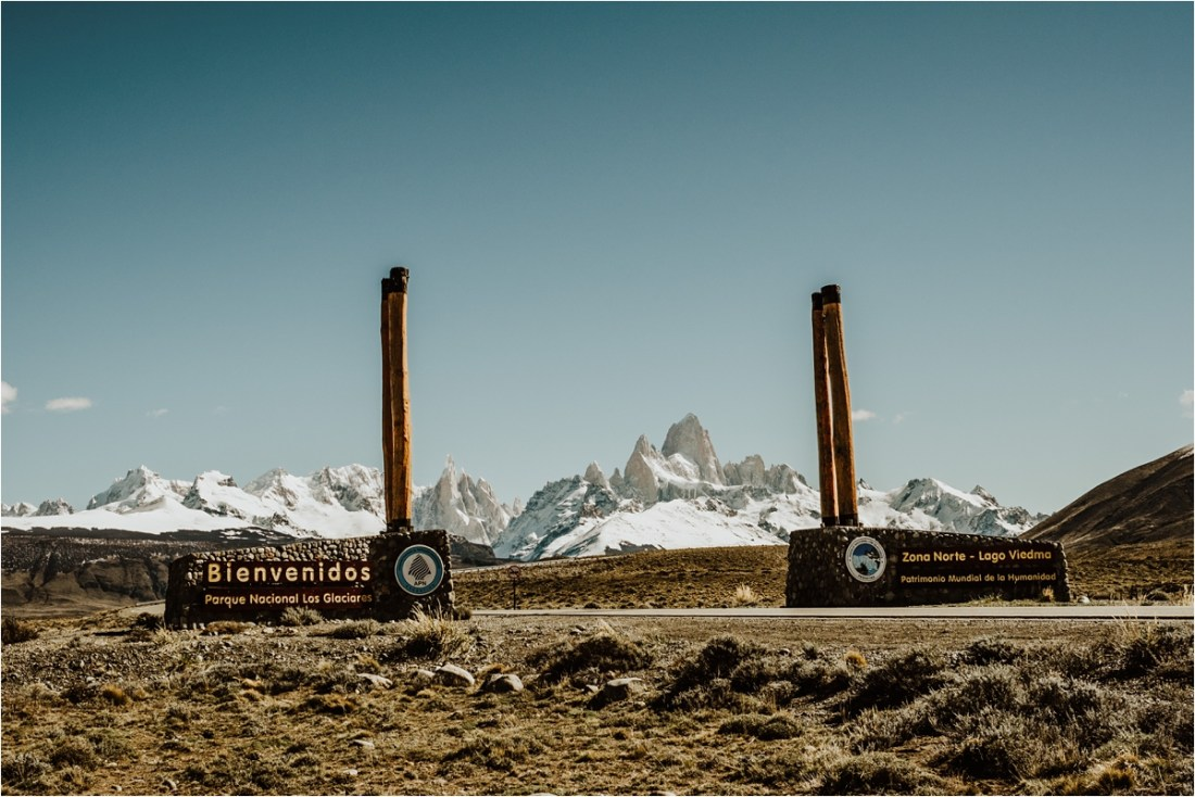 The road to El Chalten & Fitz Roy in Patagonia by Wild Connections Photography