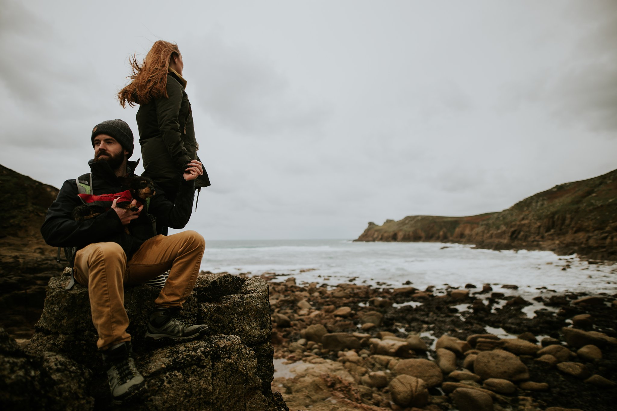 A engagement session in Cornwall by Lucy Turnbull Photography