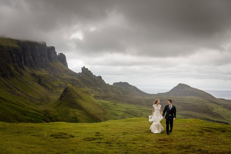 An elopement on the Isle of Skye by Lynne Kennedy Photography