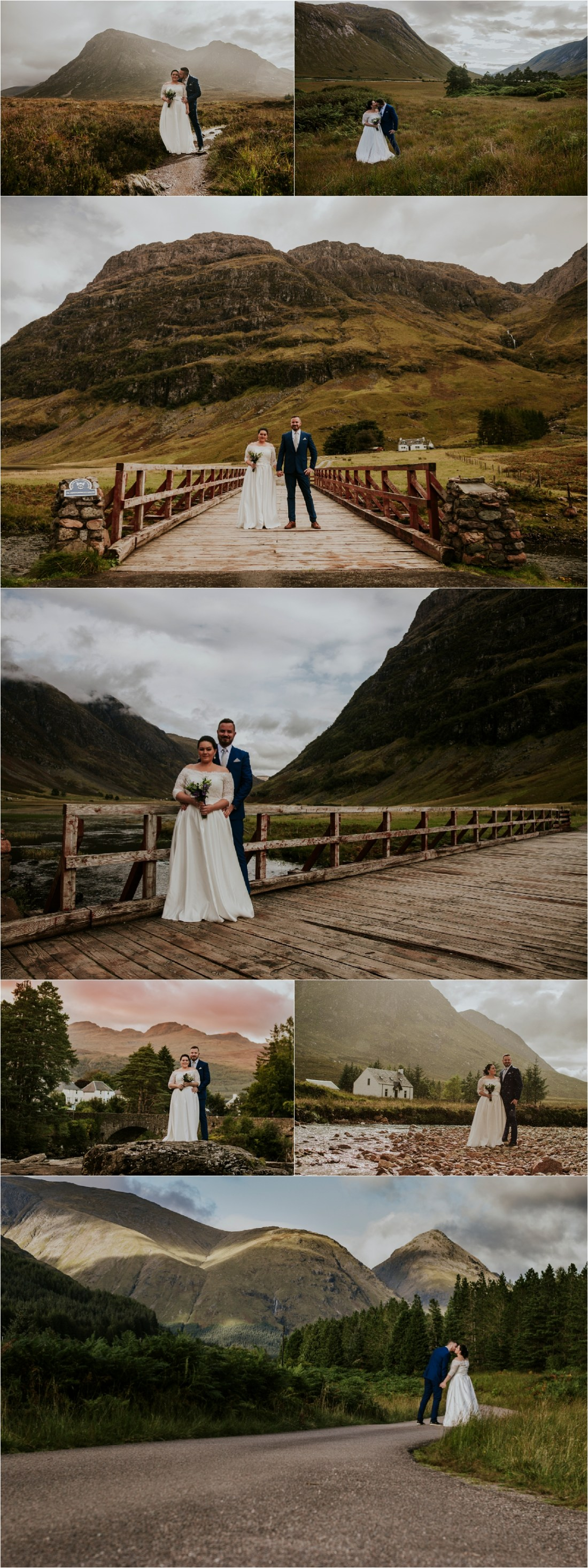 A Hungarian post-wedding shoot in Scotland by Weirdie Grizzly