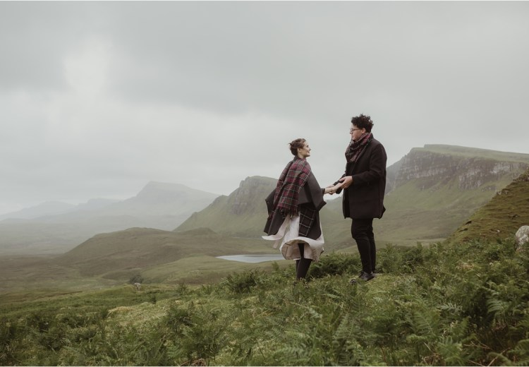 A Quiraing Elopement On Scotland's Isle of Skye by Maureen du Preez.