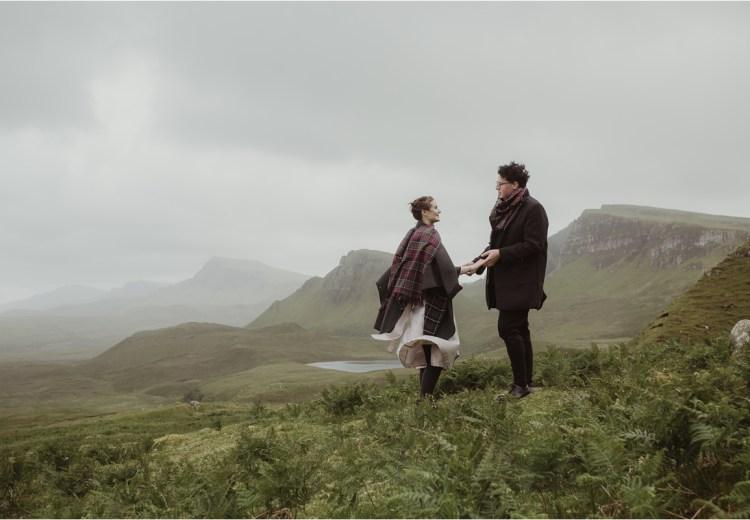 A Quiraing Elopement On Scotland's Isle of Skye by Maureen du Preez.