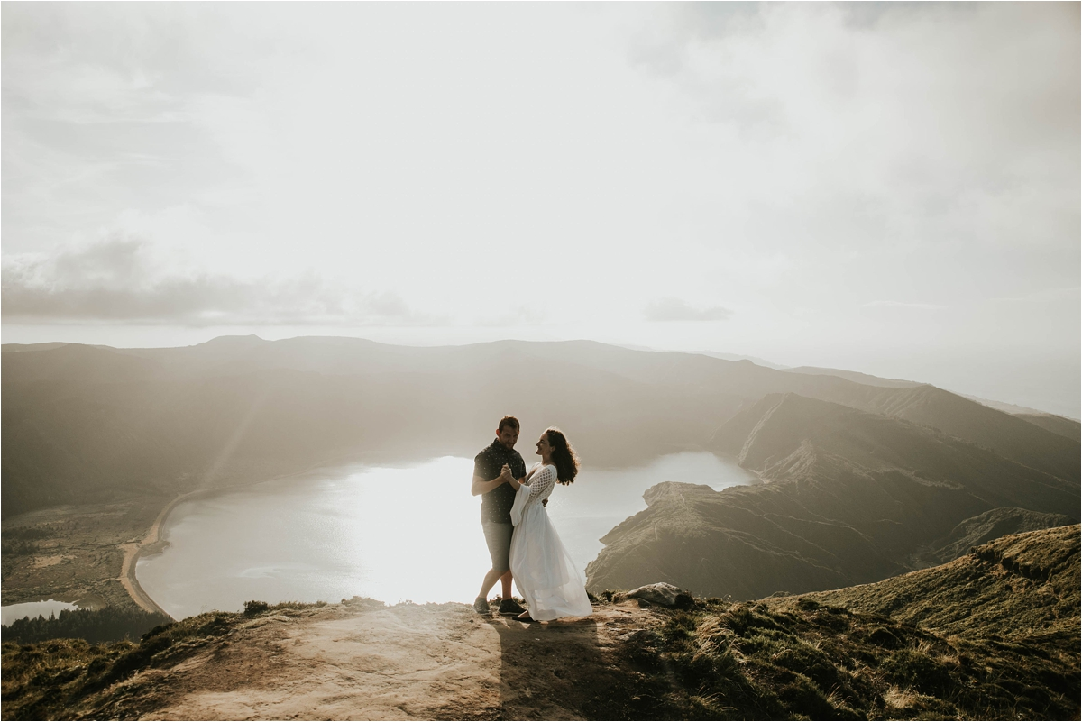 Azores wedding anniversary shoot by Loco Love Photography