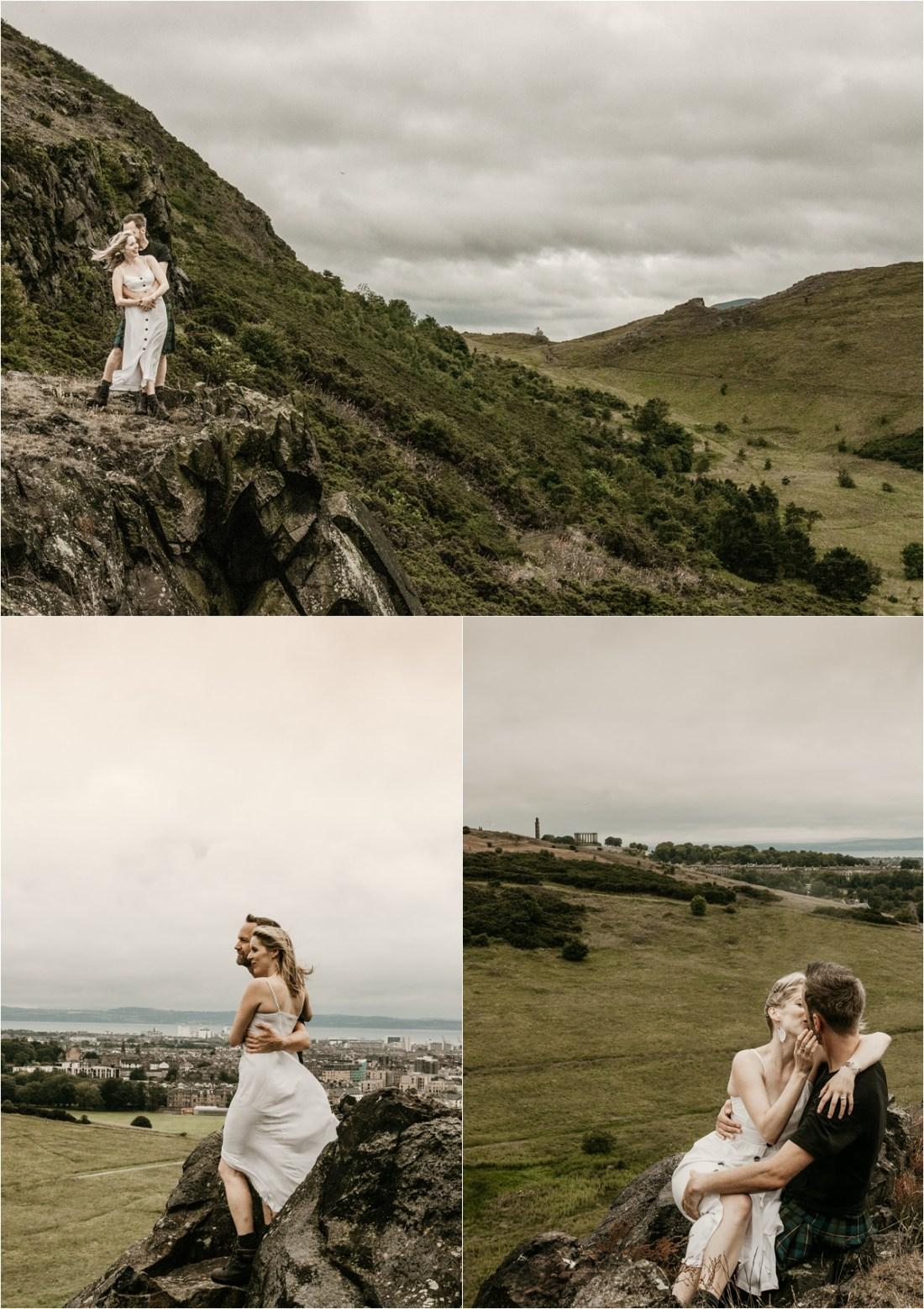 Edinburgh Engagement, Edinburgh Hills Engagement Session