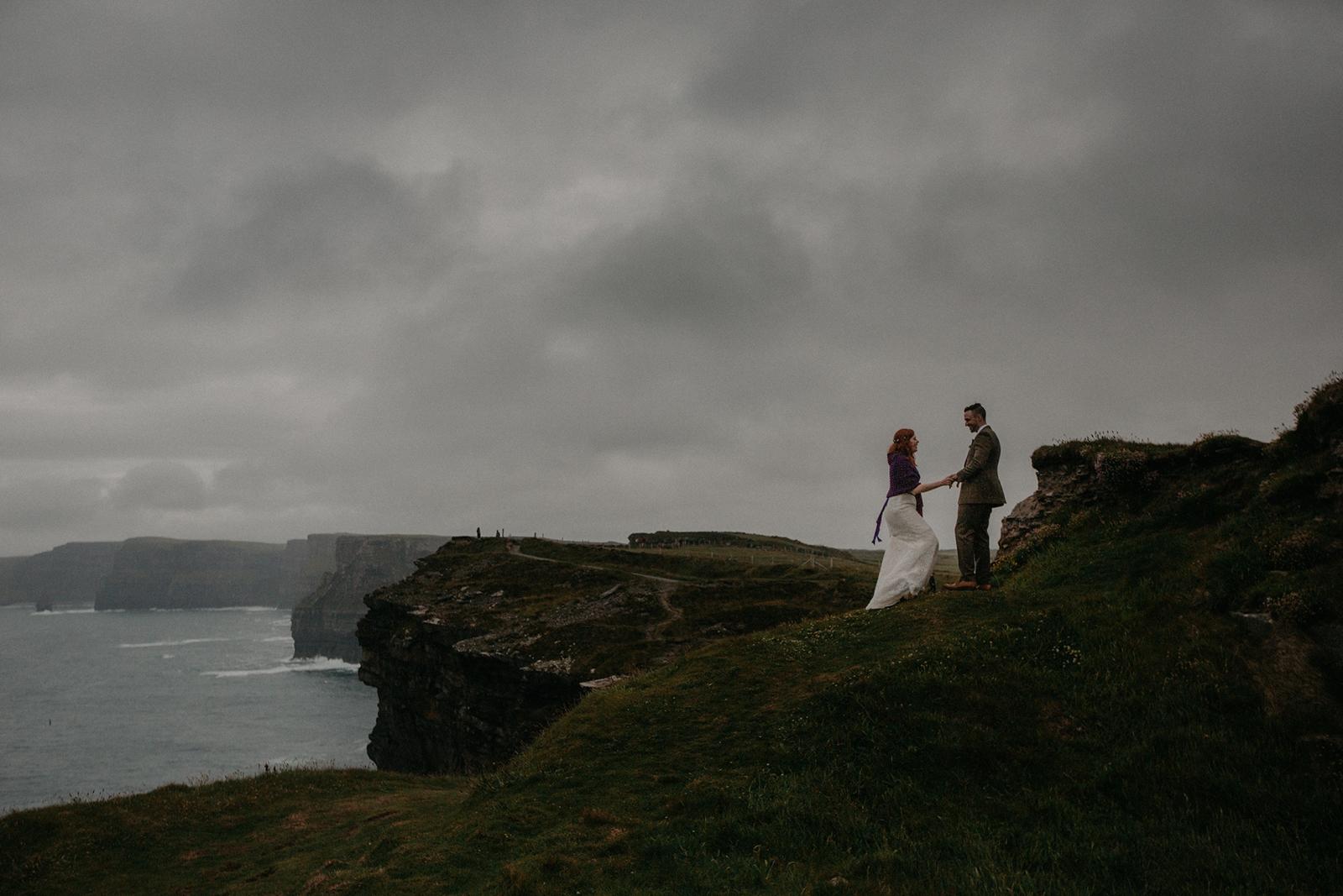 Cliffs of Moher Elopement, Cliffs of Moher Elopement in Ireland