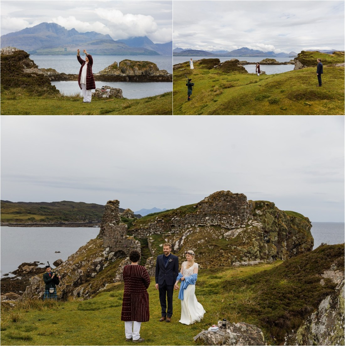 Isle of Skye elopement wedding in Scotland by Lynne Kennedy Photography