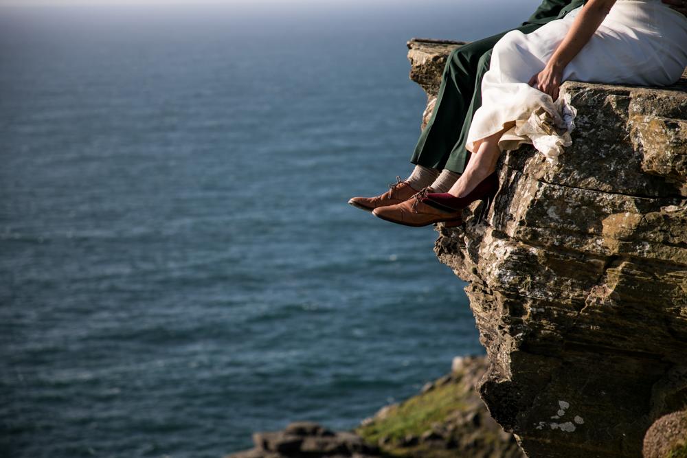 Cliffs of Moher elopement, Cliffs of Moher Elopement
