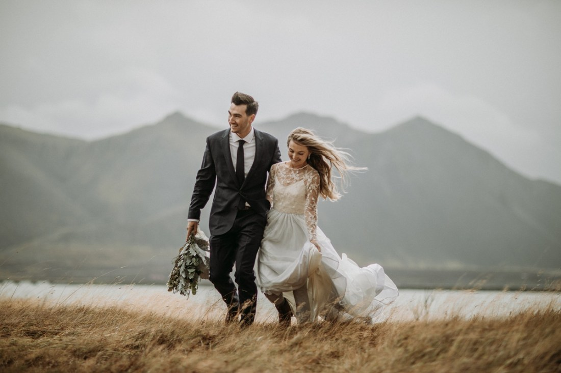 Iceland waterfall elopement, Private Iceland Waterfall Elopement