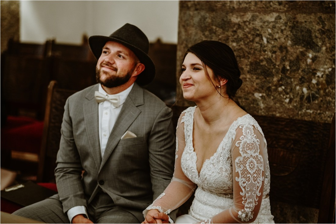 Innsbruck Elopement ceremony by Wild Connections Photography