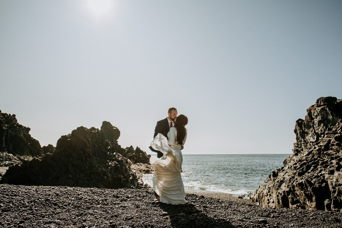 Snaefellsness Peninsula elopement