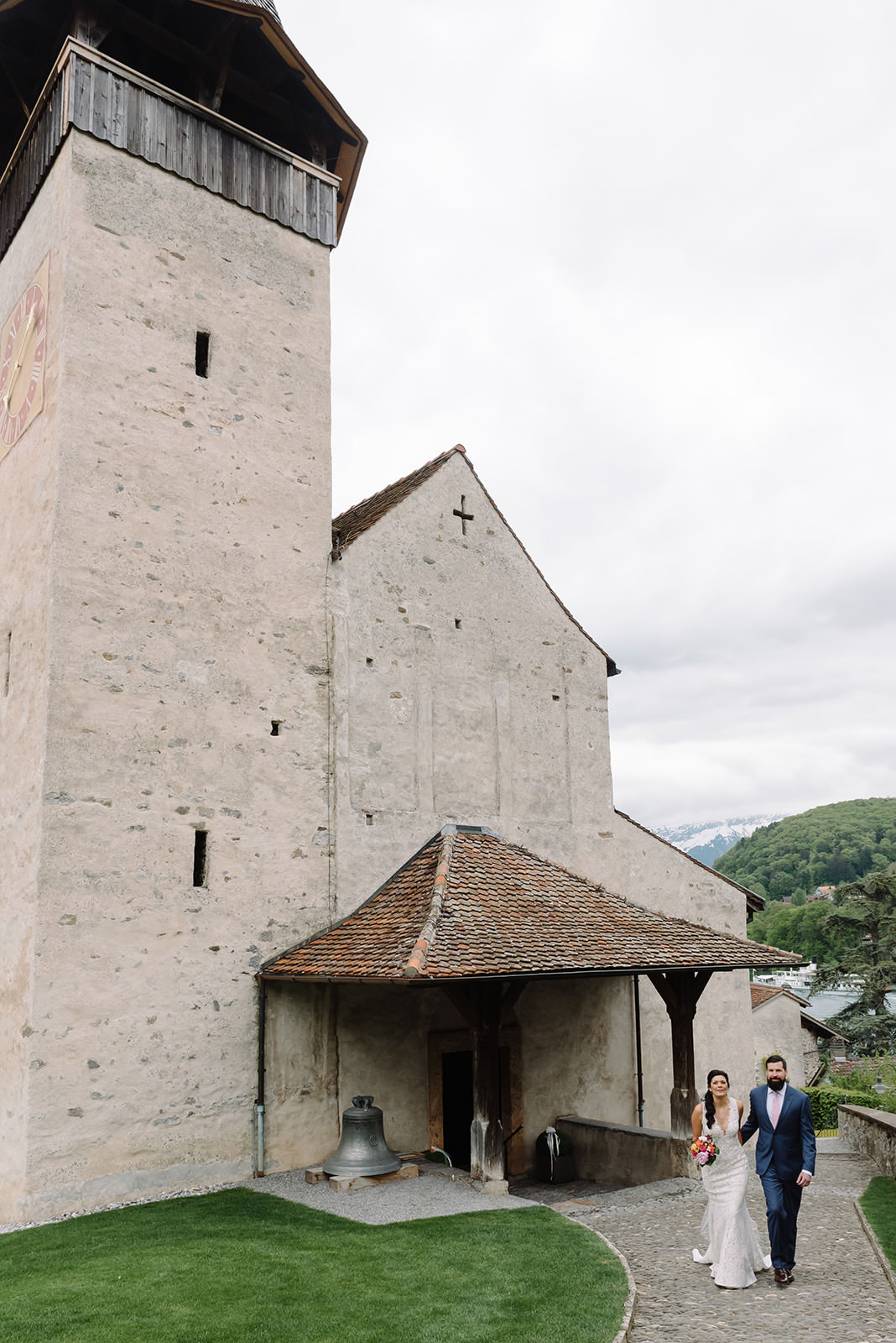 Spiez Castle Elopement, Spiez Castle Elopement In Switzerland