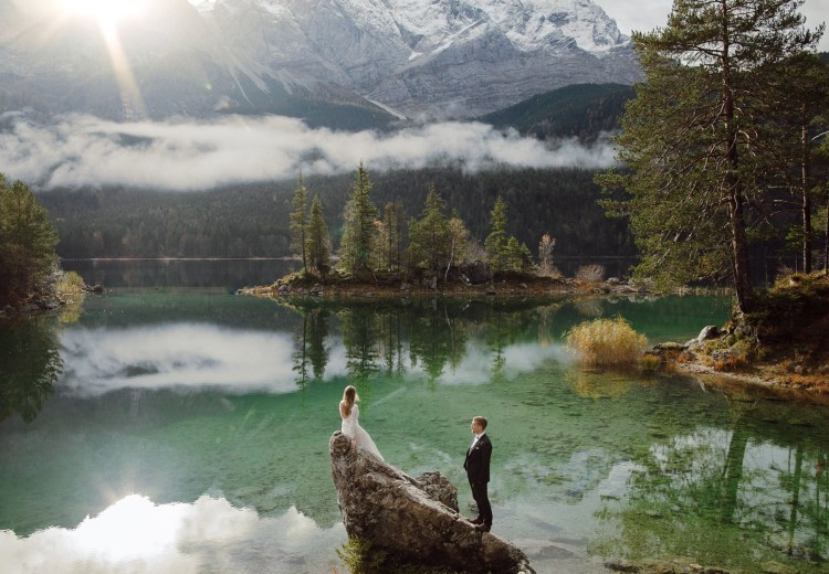 Lake Eibsee: One of the best places to elope in Germany